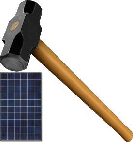 Elosztói teljesítménydíj az új napelem adó