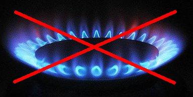 Gázfűtés betiltva